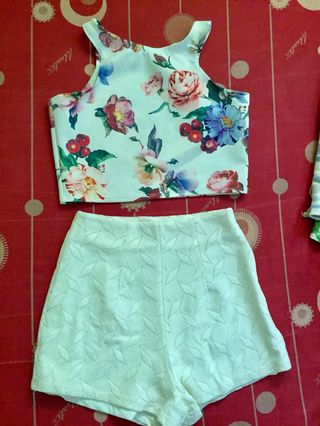 f3a32a12268 croptop and short | Women's Fashion | Carousell Philippines