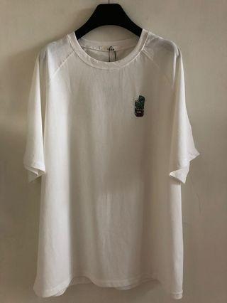 MUSHROOM HEAD蠟筆小新系列T(白色) #summer19