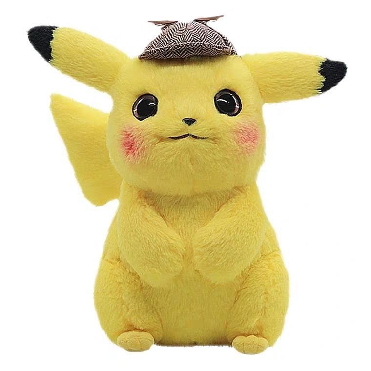 $169 比卡超 毛公仔 POKÉMON 神探Pikachu - 電影周邊產品