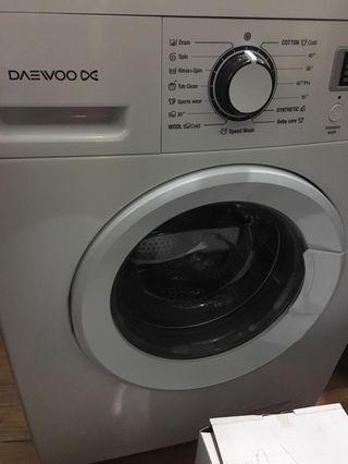Daewoo DWDNT1011 Washing Machine 7kg