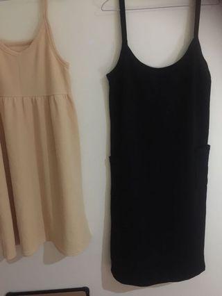🚚 Black apron dress