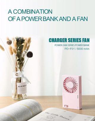 NEW! 手提風扇連Power Bank