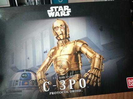 Star Wars C-3PO 1/12 scale