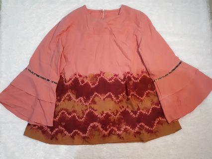 Sasirangan blouse