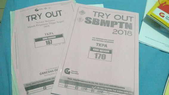 Soal Ganesha Try out