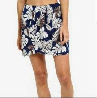 Zalora Printed Wrap Skirt Size S