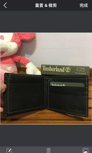 Timberland 皮夾全新/ passcase wallet /New
