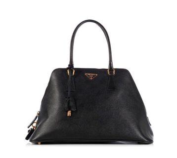🚚 WTS/WTT Authentic Prada Black Saffiano Leather Bag
