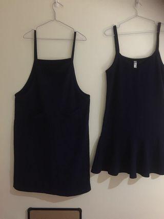 🚚 Navy dark blue Casual Dress