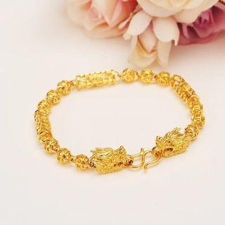 Gold Dragon Bracelet