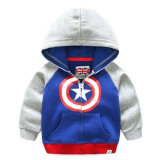 Captain America Boy Kid Jacket