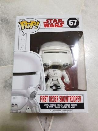 Funko Pop Star Wars First Order Snowtrooper