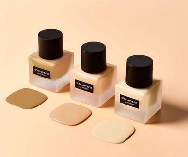 Shu Uemura unlimited breathable lasting foundation