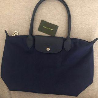 法國巴黎帶回 Longchamp neo 深藍