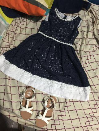 Navy Blue Dress (Kids) Free SF for MM