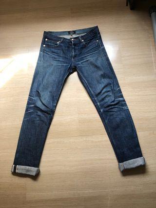A.P.C indigo jeans (W26)