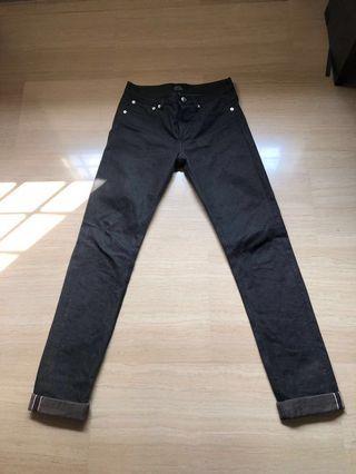 A.P.C black jeans (W26)