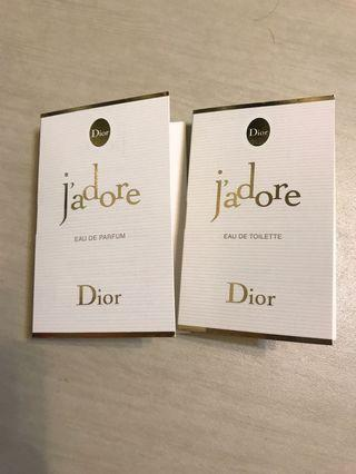 🚚 Dior j'adore 淡香水+dior j'adore