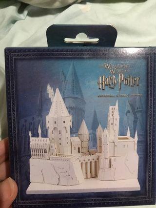 哈利波特紙製城堡