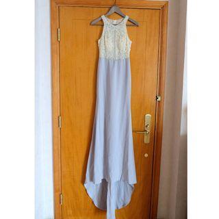 (全新) Fiancee Bridal Room 結婚婚紗晚裝長裙 pre wedding gown prewedding evening dress