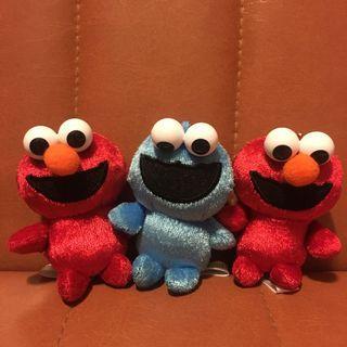 閃令令Elmo & Cookies monster