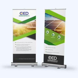 Roll up/ Retractable banner design