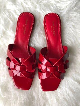 YSL red sandal Premium ya non ori