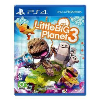 🚚 Little Big Planet 3 (PS4/Preowned)