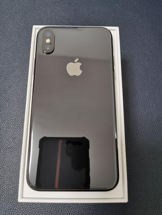 IPHONE X BLACK 256GB (98%New)