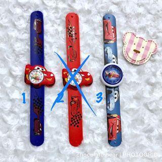 Jam tangan anak CARS - BARU GRESS, harga satuan (per pcs)