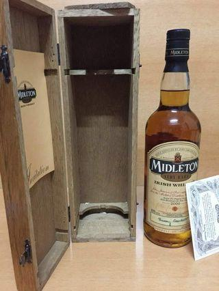 罕見 愛爾蘭威士忌 Midleton 2000