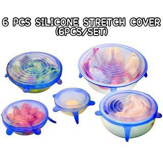 【INSTOCKS!】6PCS SILICONE STRETCH LID; INCLUSIVE OF FREE SHIPPING! 💕