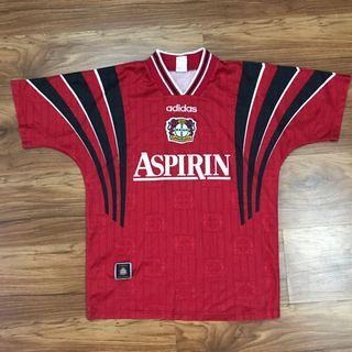 Authentic bayer leverkusen 1996 jersey adidas vintage