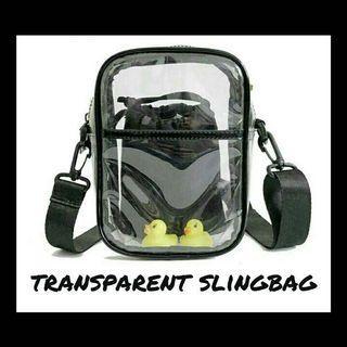 Transparent Slingbag