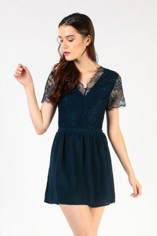 🚚 Dressabelle lace fit and flare dress