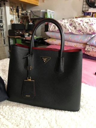 6df40dc3205c prada bag saffiano | Bags & Wallets | Carousell Philippines