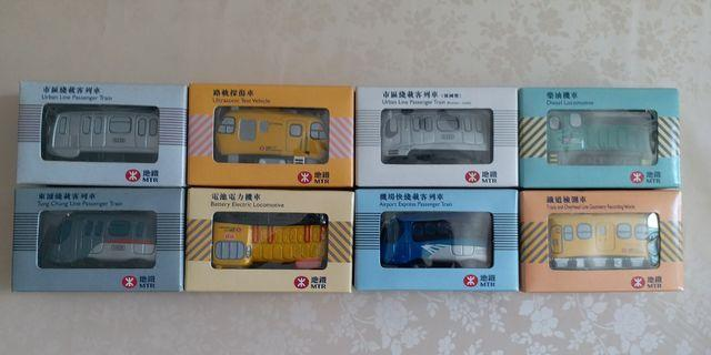 地鐵/港鐵/MTR 25周年Q版金屬車仔
