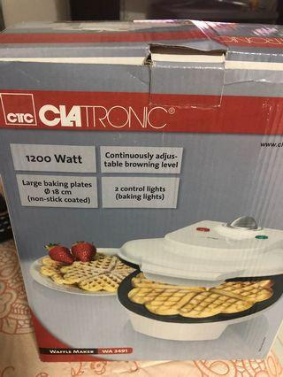 🚚 New waffle maker for home use