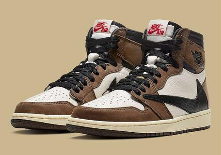 Travis Scott Air Jordan 1s (PO)