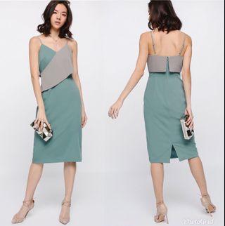 Lovebonito Morley Layer Midi Dress