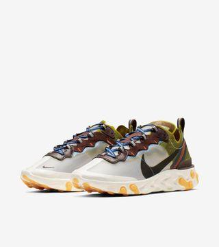 [UNDER RETAIL] Authentic Nike React Element 87 Moss