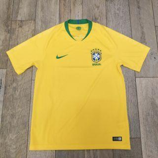 Nike 巴西2018世界盃主場波衫(中碼)