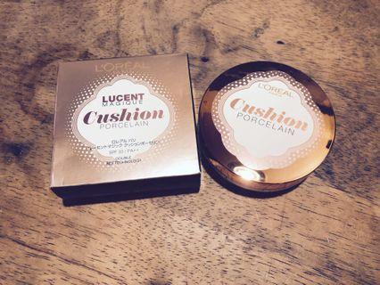 L'Oréal Paris LUCENT MAGIQUE 陶瓷光感氣墊粉底 原價$200