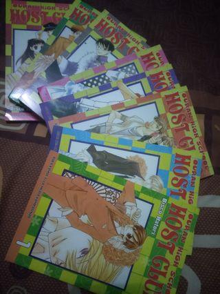Komik ouran high school host club series #maujam