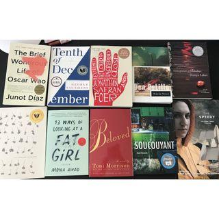 10 books for sale - Uoft 2016-2017 ENG140 - Literature of Our Time
