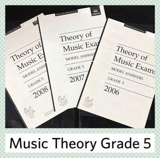ABRSM Grade 5 Music Theory Model Answers (2006 - 2008)