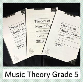ABRSM Grade 5 Music Theory Model Answers (2009 - 2011)
