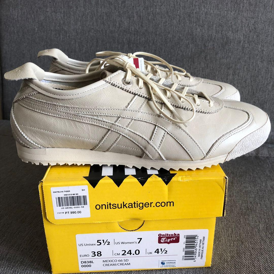 finest selection 2b37d 4707b 24cm Onitsuka Tiger Mexico 66 SD Premium Leather on Carousell