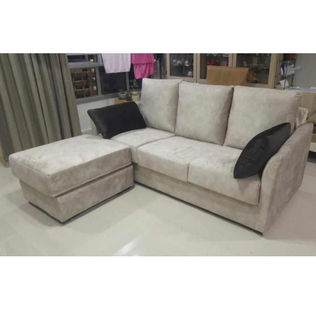 3 Seater Ottoman Fabric Sofa High Quality Fabric Furniture