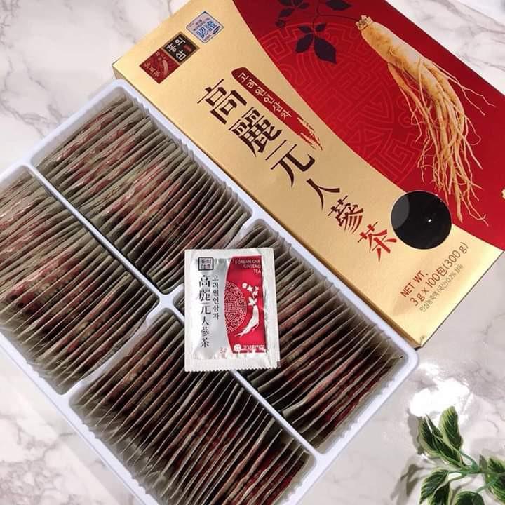 現貨韓國-高麗元人參茶-3g*100包